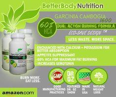 Garcinia Cambogia Extract - NEW Enhanced Garcinia Cambogia 1600 Premium Pure Lean (Potent 1600mg, stronger than... $21.95
