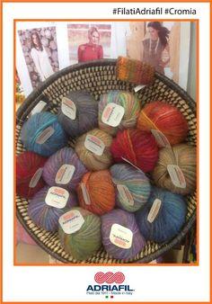 Ecco il colori nel filato #Cromia #Adriafil, tu che colore scegli?  http://bit.ly/AdriafilCromiaITA