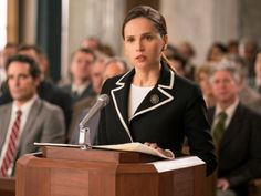 Felicity Jones talks becoming Ruth Bader Ginsburg in On the Basis of Sex—and RBG's crush on Armie Hammer Felicity Jones, Ruth Bader Ginsburg, Sam Waterston, Chris Kyle, Becoming Jane, Justin Theroux, Streaming Hd, Streaming Movies, John Glenn
