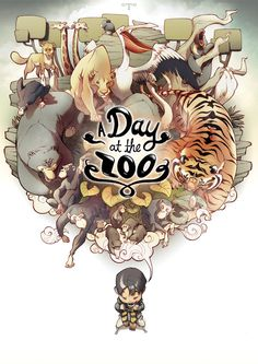A Day at the Zoo by t-wei.deviantart.com || CHARACTER DESIGN REFERENCES | Find…