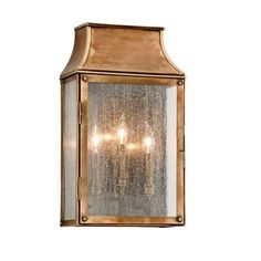 Troy Lighting Beacon Hill 3 Light Wall Sconce Lantern