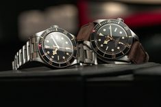 Good things come in smaller packages. Cam checks out the smaller, slimmer Tudor Black Bay Fifty-Eight at Baselworld 2018.