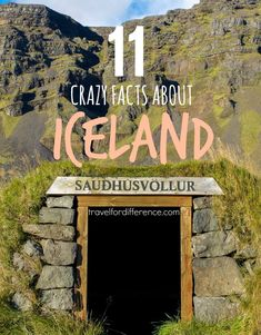 the most unusual place on earth! Here are 11 crazy facts about Iceland, that will make you fall in love with this country.Iceland, the most unusual place on earth! Here are 11 crazy facts about Iceland, that will make you fall in love with this country. Crazy Facts, Weird Facts, Unusual Facts, Oh The Places You'll Go, Places To Travel, Iceland Facts, Iceland Adventures, Iceland Travel Tips, Strange Places