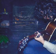 This photo was supposedly taken at Bron-Yr-Aur Cottage in May 1970 but I can't find anything to verify that it was, or that it is Jimmy Page in the photo.  Help me out here!