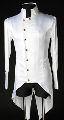Dracula Clothing - White Satin Regal Shirt #goth #gothic #punk #punkrock #rockabilly #psychobilly #pinup #inked #alternative #alternativefashion #fashion #altstyle #altfashion #clothing #clothes #vintage #noir #infectiousthreads #horrorpunk #horror #steampunk #zombies #gothclothes #gothclothing #gothicclothes #gothicclothing #shrineclothing