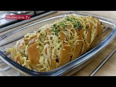 Zapiekany chleb z nadzieniem :: Skutecznie.Tv [HD] - YouTube Macaroni And Cheese, Grilling, Food And Drink, Meat, Ethnic Recipes, Poland, Youtube, Polish Food Recipes, Chef Recipes