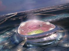 Lusail Iconic Stadium is a proposed football stadium which will be built in Lusail, Qatar in time for the finals of the 2022 FIFA World Cup. Arch. Foster + Partners