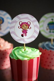 cute ideas for umizoomi party
