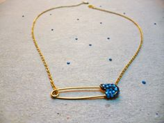 Jade Eclectic: DIY : House of Harlow Inspired Safety Pin Necklace