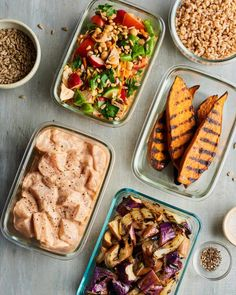 This meal plan of easy family meals on the grill is the ideal summer menu of weeknight dinners and meal prep lunches. This meal prep guide walks you through the breakfast, lunch and dinner you'll need to have the best week of meals ever. Meal Prep Plans, Easy Meal Prep, Cooking On The Grill, Easy Cooking, Healthy Cooking, Cooking Tips, Easy Family Meals, Easy Meals, Freezer Meals