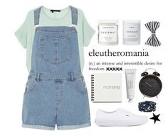 """""""Untitled #215"""" by sxmmer-sunrise ❤ liked on Polyvore featuring 360 Sweater, Dorothy Perkins, Herbivore Botanicals, Byredo, Accessorize and Vans"""