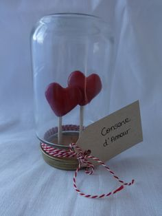 Collection St Valentin Conserve d'Amour par FeePlaisir sur Etsy, €12.00