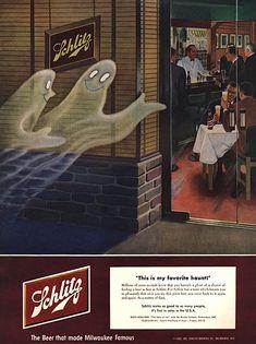 Schlitz, 1952 #beer #halloween