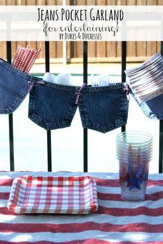 jeans pocket garland for entertaining (scheduled via http://www.tailwindapp.com?utm_source=pinterest&utm_medium=twpin&utm_content=post828601&utm_campaign=scheduler_attribution)