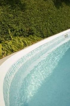 Waterline pool tile