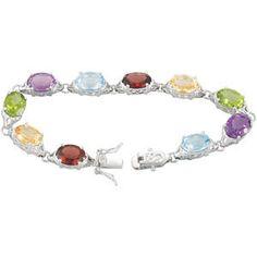 Multi colored Stoned bracelet