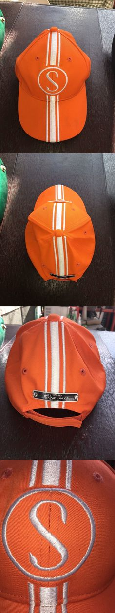 Hats Caps and Headbands 158994: Schwinn Stingray Orange Krate Hat Orange W White Baseball Cap -> BUY IT NOW ONLY: $39 on eBay!