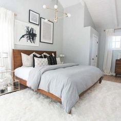 minimalist bedroom ideas for small rooms - do not let yourself be . - minimalist - minimalist bedroom ideas for small rooms – don& let yourself be … minimalist bedroom idea - Modern Bedroom Decor, Small Room Bedroom, Contemporary Bedroom, Cozy Bedroom, Bedroom Inspo, Bedroom Furniture, Bed Room, Bedroom Neutral, Small Modern Bedroom