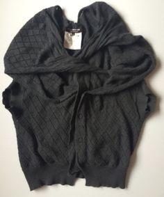 Comme Des Garcon Junya Watanabe Sweater Top Knit s 100% cotton Grey