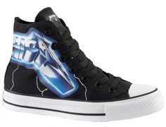 876047242cf Metallica Chuck Taylors. Awesome. Custom Converse