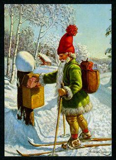 Julpost! Av Anders Olsson.