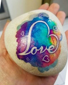 Love Painted Rock For Valentine Decorations Ideas 47 image is part of Love Painting Rock for Valentine Decorations Ideas gallery, you can read and see another amazing image Love Painting Rock for Valentine Decorations Ideas on website Rock Painting Patterns, Rock Painting Ideas Easy, Rock Painting Designs, Pebble Painting, Love Painting, Pebble Art, Stone Crafts, Rock Crafts, Art Pierre