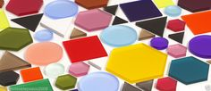 #Acrylic perspex coloured shape can be used for anything! Ideal for crafts, art and graphic design...check them out