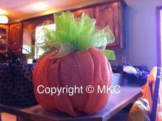 12inch pumpkin mesh that I made.