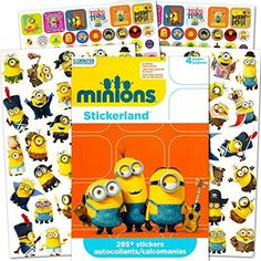 5e284290b02 Package of 4 Despicable Me Sticker Book - free shipping worldwide