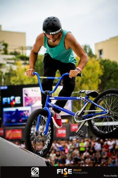 Freegun Athlete Daniel Sandoval BMX Freestyle
