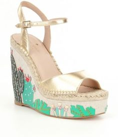 Shop for kate spade new york Dallas Cactus Wedge Sandals at Dillards.com. Visit Dillards.com to find clothing, accessories, shoes, cosmetics & more. The Style of Your Life.