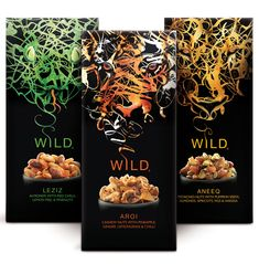 Stream Foods has launched a new range of wholefood snacks, designed by Springetts. The Wild brand comprises six exotic mixes, each reflecting a unique culture and culinary tradition