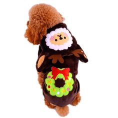 It's here! Christmas Tree De... Don't wait get it today! http://fydeals.com/products/christmas-tree-deer-clothes-for-dogs-and-cats-winter-coffee-mulu-red-flannel-soft-pets-tracksuit-for-chihuahua-yorkie-pitbull?utm_campaign=social_autopilot&utm_source=pin&utm_medium=pin