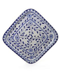 Another great find on #zulily! Azoura Square Platter by Le Souk Ceramique #zulilyfinds