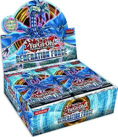 This week, I am going to mainly focus on my Yugioh lenses to get into Tier 3 so that I can secure a third of all of the Top 100 Yugioh lenses. Generation Force is the first booster pack to have XYZ Monsters, and Number 17: Leviathan Dragon is on the front of this booster pack.