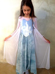 Hand made Elsa dress size 5, Elsa for girls, frozen elsa, frozen elza by KikimoonCostumes on Etsy