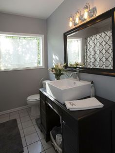 I like the mirror | As seen on the HGTV series, House Hunters Renovation -->  http://hg.tv/vtdq
