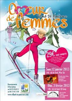 VILLARD SAINT PANCRACE - 3 février - 14h - Cœur de femmes - Cours de Ski de fond et Séance de Qi Gong – Centre Montagne – Tarifs : 29€ – Inscriptions : 04 92 49 60 51 / 06 71 94 71 00