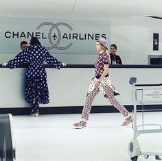 chanel show in cuba 2016 | Chanel Spring 2016: Pictures You've Got to See From the Airport-Themed ...