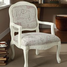 Marseille Accent Chair. I WANT this chair as a prop!