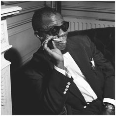 Louis Armstrong, Amsterdam, October 1955.