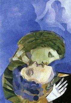 Marc Chagall - Dreams in my sky
