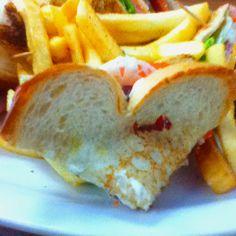 Heart sandwich <3