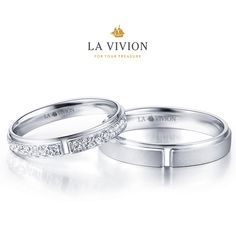 Lovely couple by La Vivion #wedding ring #LaVivion