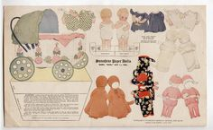 Vintage BOSTON AMERICA SUNDAY SUPPLEMENT: SUNSHINE Paper Dolls 1915 Baby Bob | eBay