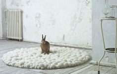 love this carpet by MYK's Bommel that I found on the Apartment Therapy blog