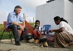 Projektpate Pierre Brice auf Sri Lanka 2005 Sri Lanka, Pierre Brice, Charity, Watches, Sailor, Children's Clinic, Birthday, Wristwatches
