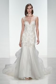 KleinfeldBridal.com: Kenneth Pool: Bridal Gown: 33136615: Fit and Flare: Natural Waist