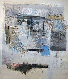 Sarah Grilo - Oil on canvas, 180x120cm (1966)