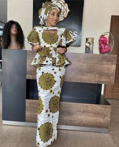 African Dresses For Kids, African Fashion Ankara, Latest African Fashion Dresses, African Dresses For Women, African Print Fashion, Africa Fashion, African Attire, African Outfits, African Print Dress Designs
